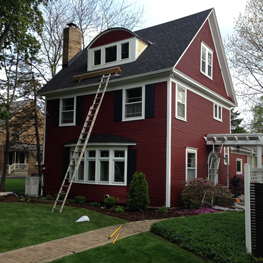 East Lansing Exterior Painting